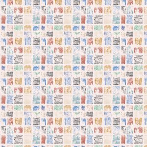 Chilly Paint Peels fabric design from Cape Cod Winter Chilly Collection / Christine Martell