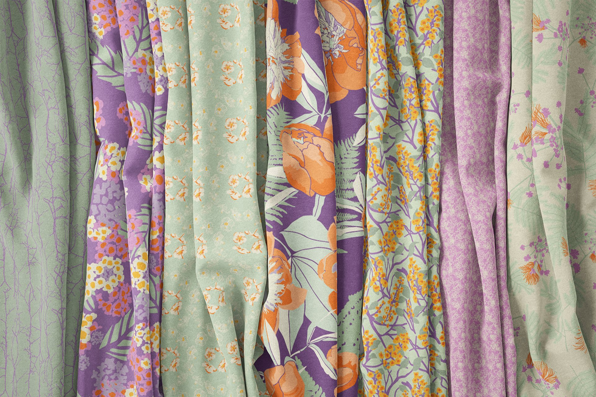 Cape Cod Garden Fabric Collection Morning Colorway⎥Christine Martell