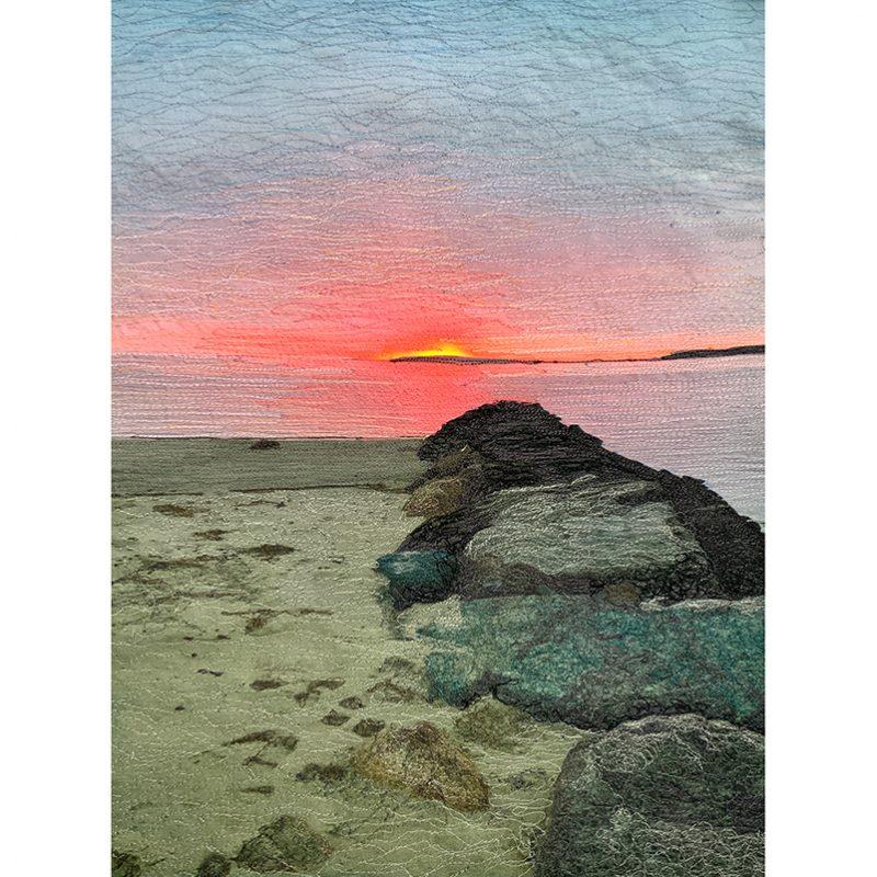Wellfeet Harbor Sunset Afterglow