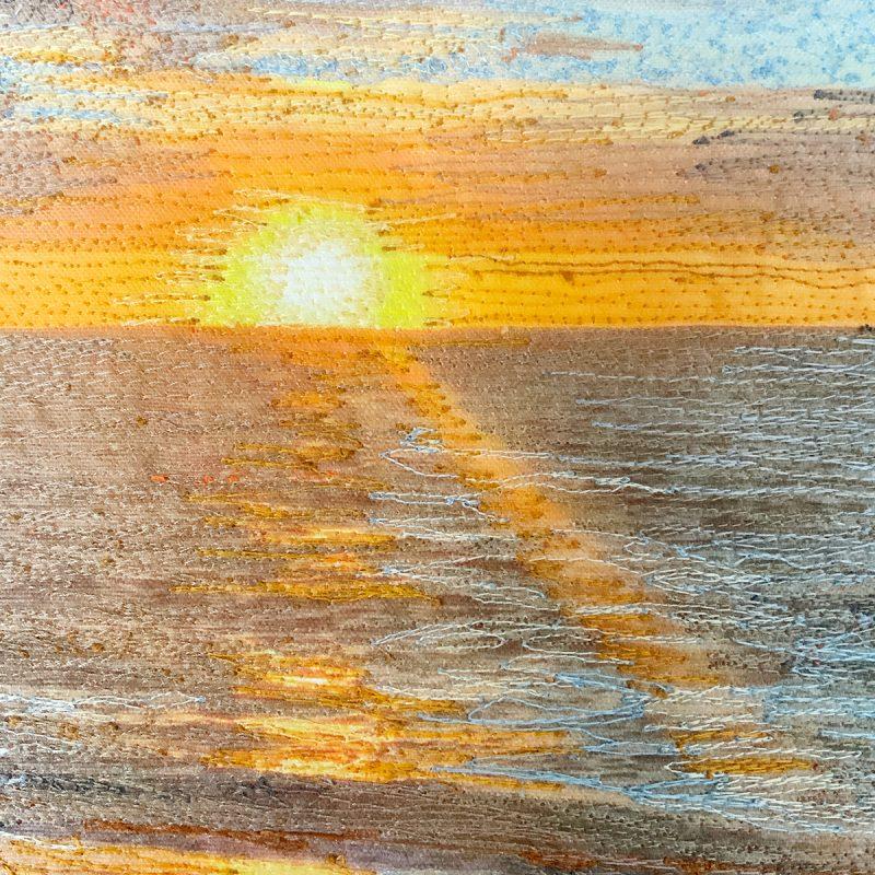 Cape Cod Bay Sunstreak 1 detail