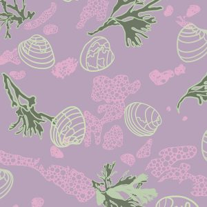 Chilled Shorewalk fabric design from Cape Cod Spring Chilled Collection / Christine Martell