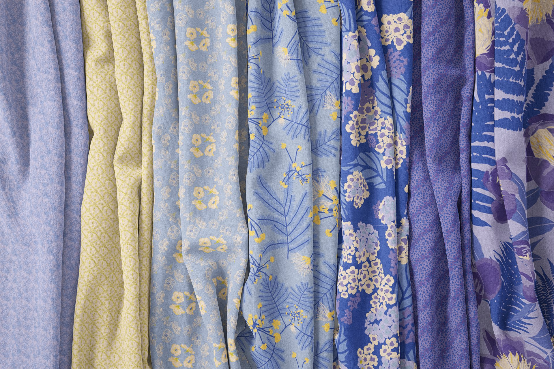 Cape Cod Garden Fabric Collection Dusk Colorway⎥Christine Martell