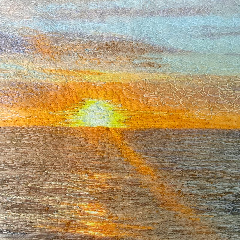 Cape Cod Bay Sunstreak 2 detail