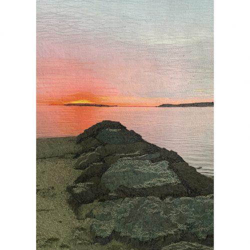 Wellfleet Cape Cod Bay Afterglow