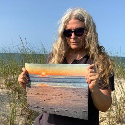 Nauset Beach Sun Rising