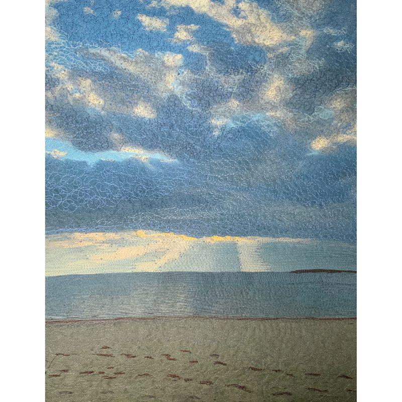 Sun Rays Cape Cod Bay